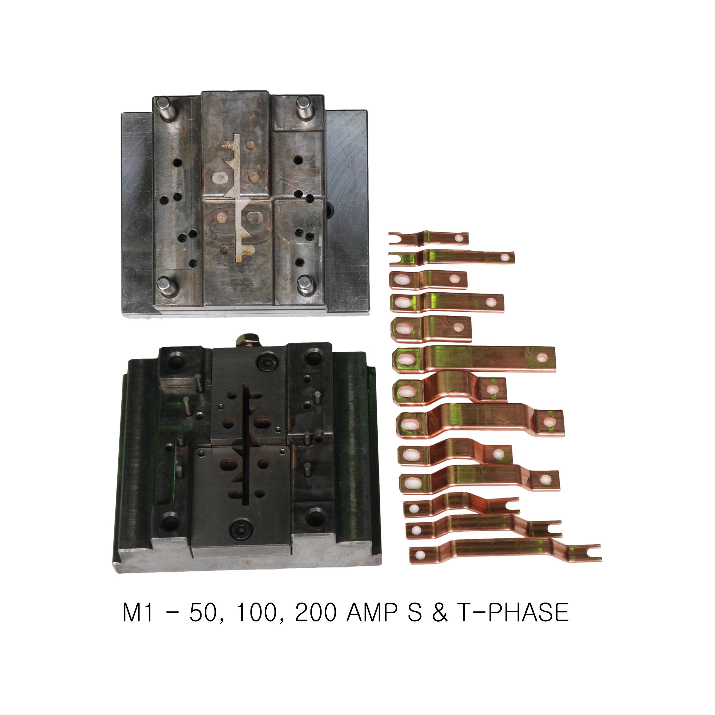 copper busbar bending machine - compact busbar machine with